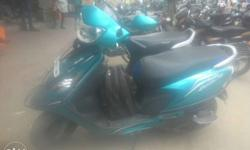 TVS Scooty 12500 Kms 2015 year
