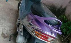 TVS Scooty 21876 Kms 2008 year