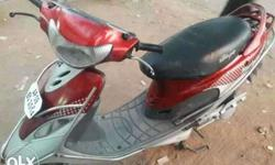 i want sell this tvs scooty with a good conidition its