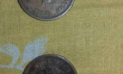 Two 1 paise coin of year 1951.and 1953..very rare to