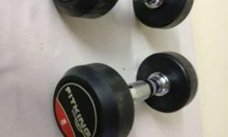 Two 5 kg dumbbells gr8 quality.In mint condition