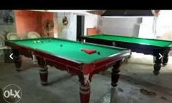 Two Brown Wooden Framed Billiard Tables Screenshot