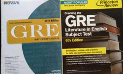 Two GRE Educational Books