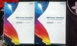 Two IBM Carrer Education Books