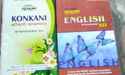Two Kokani And English Textbooks