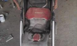 Two baby stroller, one is new and other is used