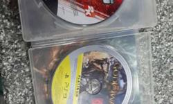 Two PS3 Game Disc In Cases