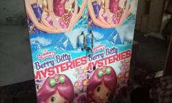 Two Strawberry Shopkins Berry Bitty Mysteries Posters