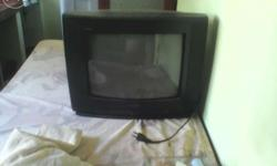 Two tv are for sale one tv working good condition but