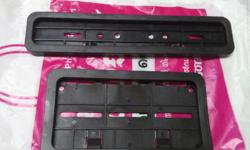 Two Wheeler Number Plate Frames At RS=260/-Only, per