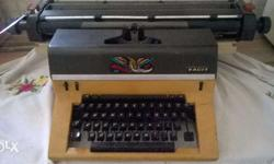 Facit Typing Machine Very Less Used