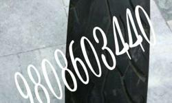 Tyre without tube Gud condition only 7000km running