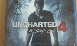 Uncharted A Thief's End 4 Sony PS4 Game Case