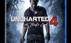 Uncharted A Thief's End 4 Ps4 Game