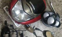 unicon head light , with handal one mirror .. cheq this