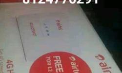 AIRTEL NEW 4G data card UNLOCKED JIO all sim use hotspot modem for