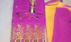 unstitched cotton suit piece of Taniksh
