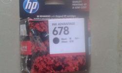 HP 678 inkjet cartridge i have purchased extra shipment