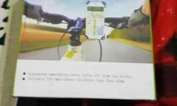 Unused smartphone holder for motorcycles...Brand new..