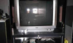 urgent sale 3 things Tv, Unit For Tv and Music Tape