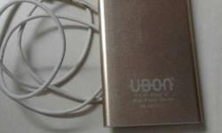 urgent Sale UBON power bank only 2 month old 4400 mah