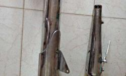 Used Torpedo Silencer and Original Enfield silencer for