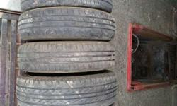 Used tyres from ranging 500-1500 per piece 12 inch - 17