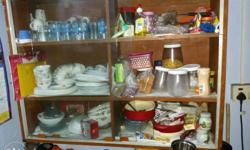utility table and crockery almirsh for sell
