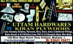 Uttam Hardwares Kiran Plywoods Photo