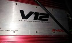 V12 amplifier with awesome quality new condition