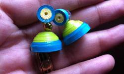 I'm selling trendy quilling ear rings, jhumkas ,wall