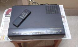 VCR with remote and guide book