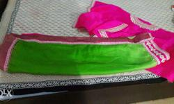 Very Beautiful New Tricolour Lehenga Saree with