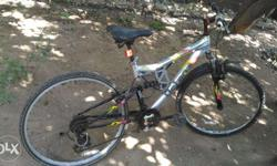 Very good cycle octane..mountain bike. made of aluminum