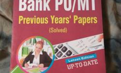very important and brand new book for SBI PO and all
