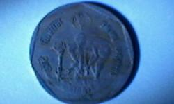 2 RUPEES COIN OF HAPPY FAMILY 1993, SARDER VALLABHBHAI