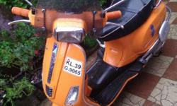 Vespa S with disc brake and wind shield,two new tyre