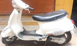 Vespa scooter very neat condition and single hand used