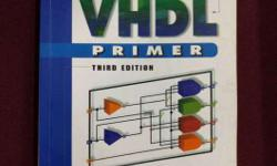 VHDL Primer 3rd Edition Book