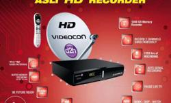 Videocon 1000GB HD DVR Recorder set top box with large