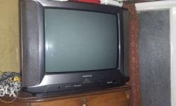 videocon bazooka model tv with four speakers and woofer