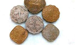 Old, Vintage, Collectible Indian Coins, From the period