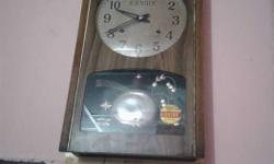 vintage pendulam clock working conditio timeing