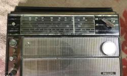 vintage philips radio working condition