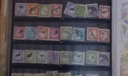 Vintage postal stamps of different countries(350