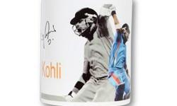 Virat Kohli Digital Signed Mug Design 1