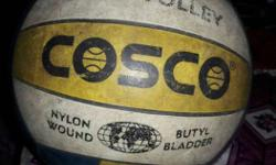 White, Yellow, Black And Blue Shot Volley COSCO Soccer