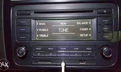 Vw polo music players old and