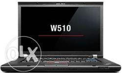 W510 USED LAPTOP THINKPAD i7, 1STGEN, 8 GB RAM, 500 GB
