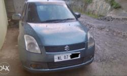 swift vdi diesel model 2008 regd. dimapur Nl 07